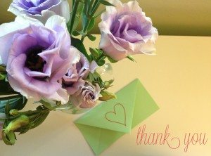 thank you a love note to you