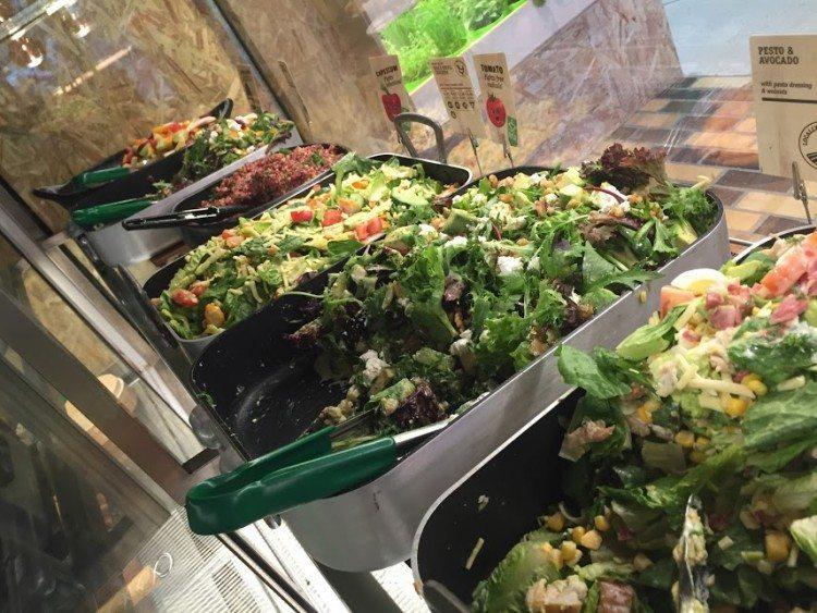 Fast Leafy Deli Salads